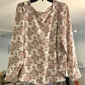 Paisley blouse from the loft